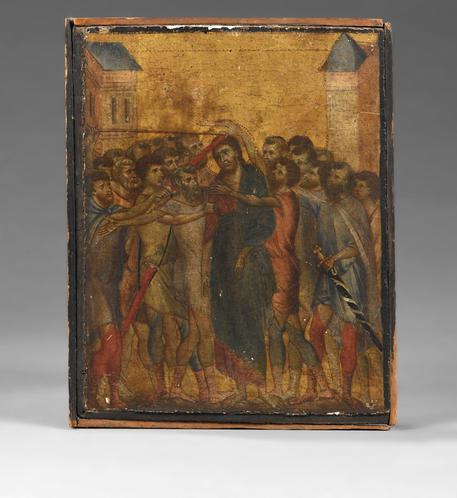 Asta record per dipinto di Cimabue, venduto a 24 milioni di euro © EPA
