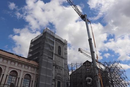 Ricostruzione Torre civica Norcia - Sisma Centro Italia
