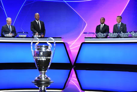 UEFA Champions League group stage draw © EPA