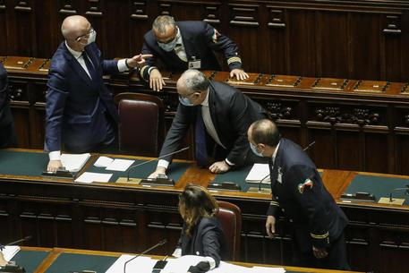 Il voto sullo scostamento di bilancio e la Nadef in Aula alla Camera © ANSA