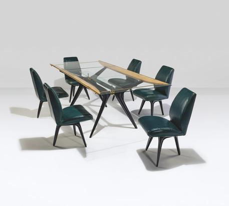 Sala pranzo di Carlo Mollino all'asta da Christie's © ANSA