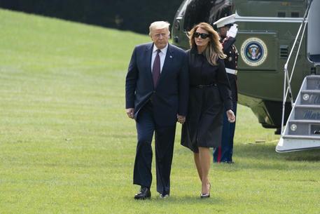 Donald Trump e la  First Lady Melania © EPA