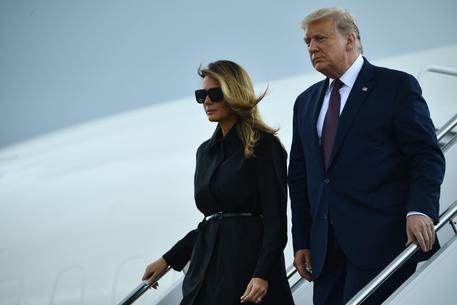 Donald  Trump e la First Lady Melania © AFP