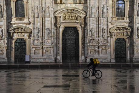 Coprifuoco a Milano © ANSA