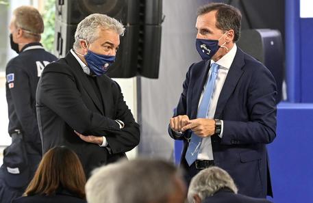 Domenico Arcuri e Francesco Boccia (archivio) © ANSA