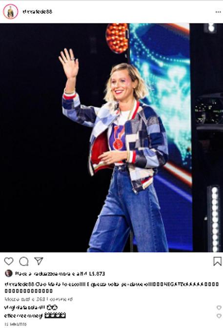 Il post di Federica Pellegrini su Instagram © ANSA