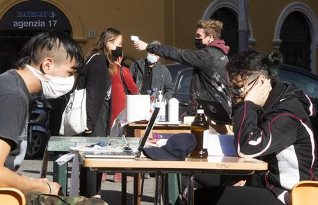 Una protesta di studenti a Roma, 10 novembre © ANSA