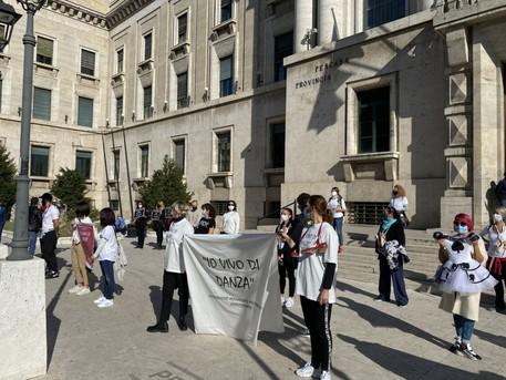 Dpcm Centri Danza E Palestre Protestano A Pescara Abruzzo Ansa It