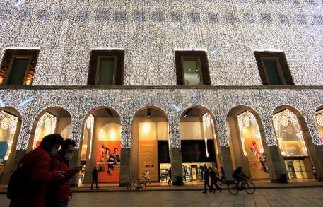 Luci di Natale a Milano © ANSA