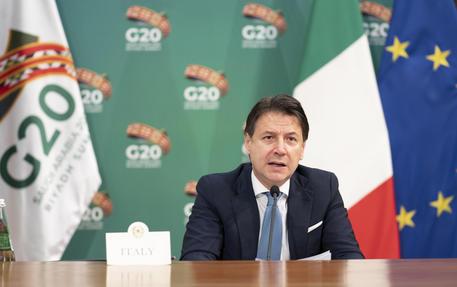Il Presidente del Consiglio, Giuseppe Conte © ANSA