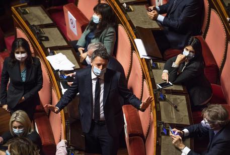 Il leader di Italia Viva, Matteo Renzi © ANSA