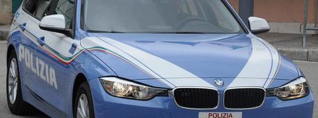 Auto della Polizia © ANSA