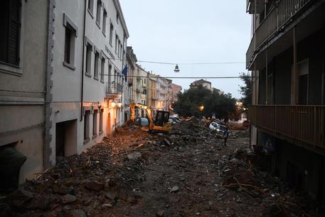 I danni causati dall'alluvione che ha colpito Bitti (Nuoro) © ANSA