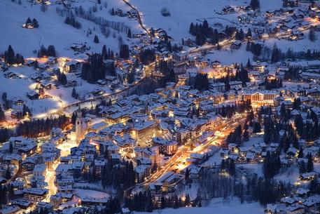 Una panoramica su Cortina d'Ampezzo © Cortina Marketing