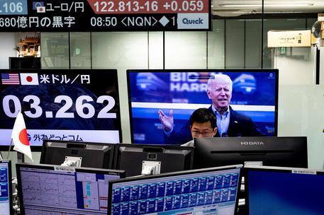 Borsa: Tokyo, chiusura in netto rialzo © Ansa