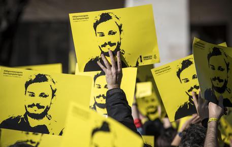 Una manifestazione per chiedere verità su Giulio Regeni © ANSA