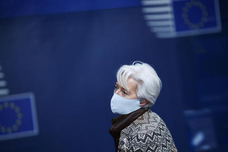 Christine Lagarde, archivio © EPA