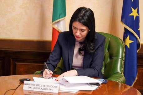 La ministra dell'Istruzione Lucia Azzolina (Foto d'archivio) © ANSA