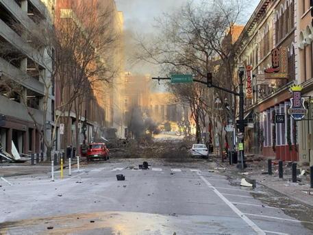 Cosa sappiamo dell'esplosione americana di Nashville?