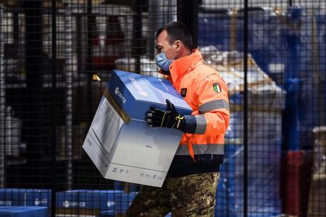 Dosi del vaccino Pfizer arrivate in Italia © ANSA