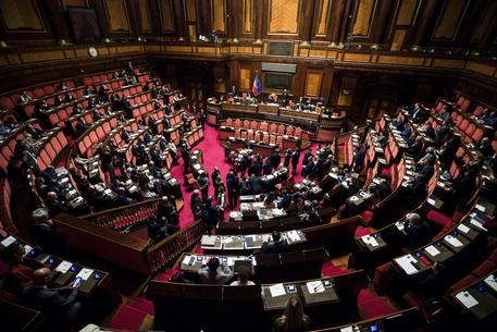 L'Aula del Senato (foto archivio) © ANSA