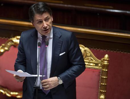 """Conte al Senato: """"Il consiglio Ue di domani si annuncia complesso"""" -  Politica - ANSA"""