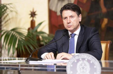 Il premier Conte ANSA/Filippo Attili / Press office Palazzo Chigi ©