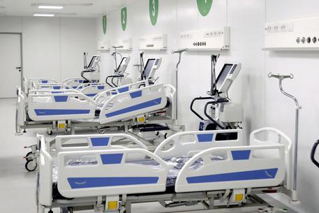 Coronavirus: Fiera Milano, per ospedale al lavoro in 500 h24 © ANSA