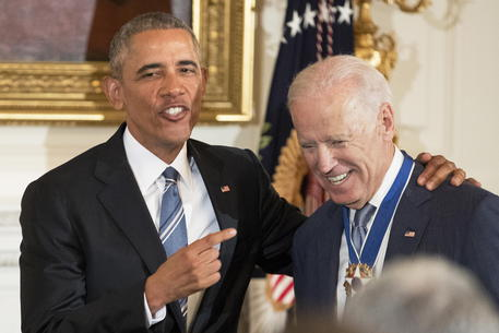 Barack Obama e Joe Biden in una foto d'archivio © EPA
