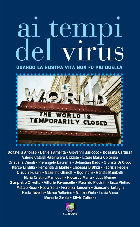 La cover dell'e-book Ai tempi del virus © ANSA