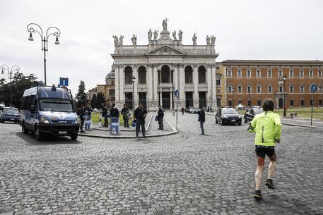 Piazza San Govanni, a Roma © ANSA