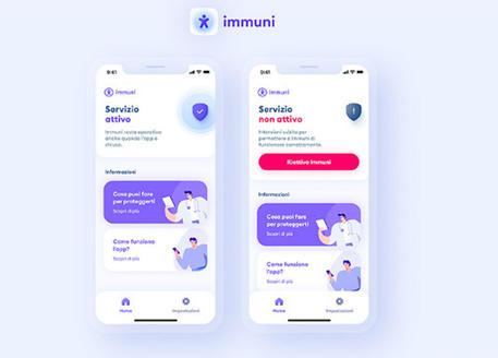 Al via test su app Immuni in 4 regioni, c'è anche l'ok del Garante -  Software e App - ANSA