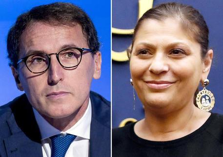 Il ministro per gli Affari regionali  Francesco Boccia e il presidente della Regione Calabria, Jole Santelli © ANSA