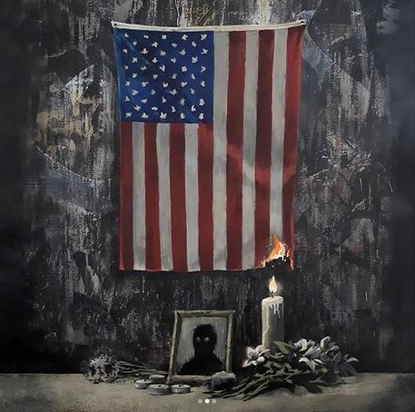 La voce di Banksy per Floyd contro il razzismo © ANSA