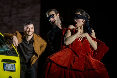 Don Giovanni libertino senza tempo a Macerata © ANSA