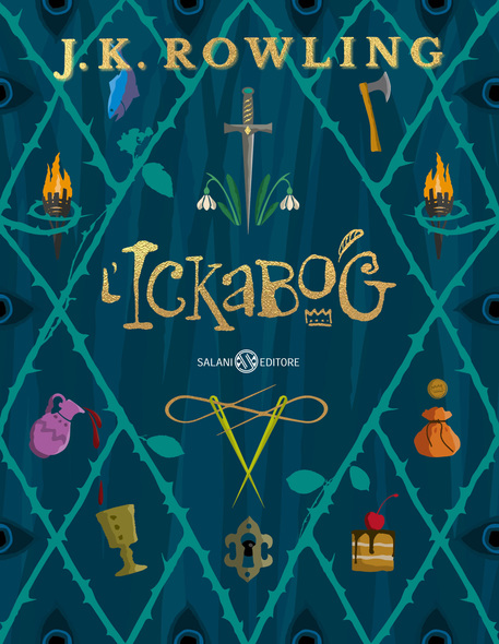 La cover di The Ickabog © ANSA