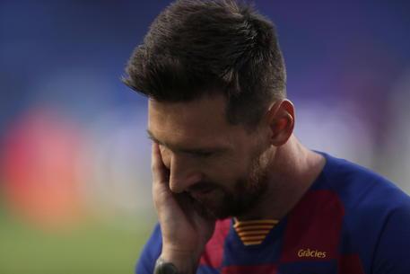 Barcellona-Bayern Monaco, Messi © EPA