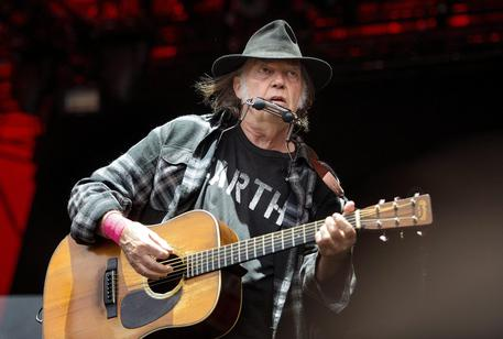 Neil Young © ANSA