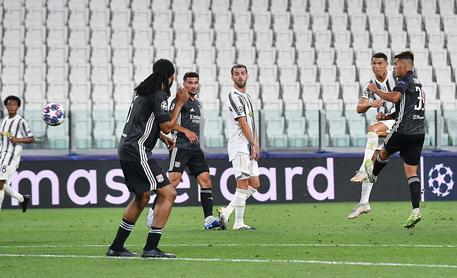 Juventus-Lione © ANSA