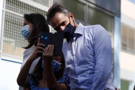 Covid Grecia Positivi Ministra Istruzione E Marito Ultima Ora Ansa