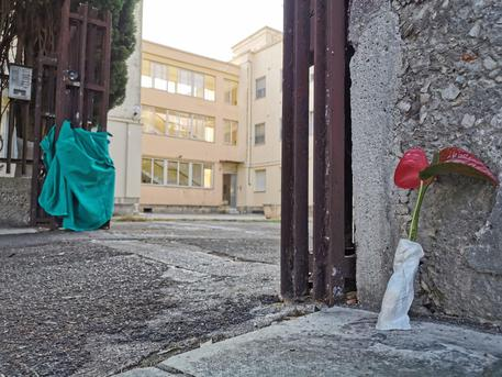Il condominio dove De Santis e la compagna sono stati uccisi © ANSA