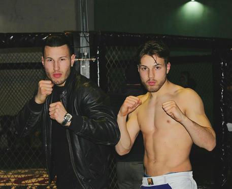 I fratelli Gabriele (S) e Marco Bianchi in una immagine tratta da Facebook © ANSA
