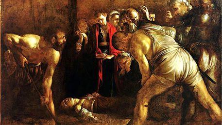 Tela Caravaggio al Mart, trasferita oggi a Roma da Siracusa - Sicilia -  ANSA.it