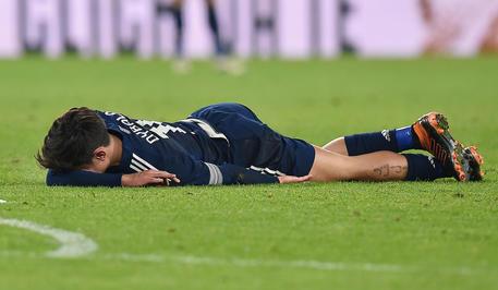 Paulo Dybala domenica scorsa si è fatto male durante la partita contro il Sassuolo © ANSA
