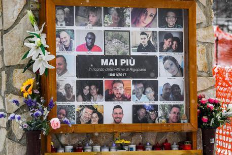 Quattro anni fa la tragedia di Rigopiano © ANSA