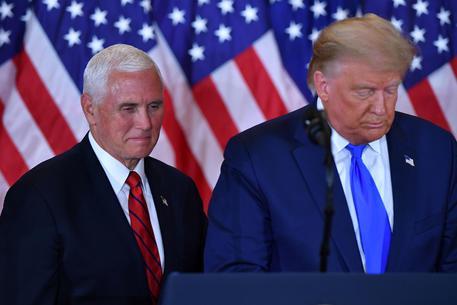 Donald Trump e Mike Pence © AFP