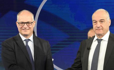 Faccia a faccia Michetti-Gualtieri, scontro sul governo - Lazio