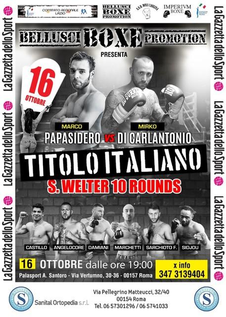 Pugilato: domani a Roma c