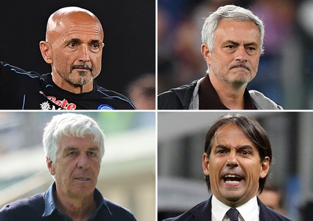 Serie A: un turno stop a Spalletti, Mourinho, Gasperini, Inzaghi - Lazio
