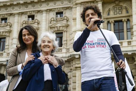 Filomena Gallo, Mina Welby e Marco Cappato © ANSA